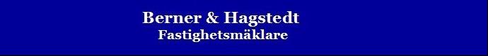 Berner & Hagstedt Fastighetsmäklare